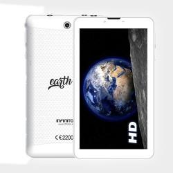 "Tablet 7"" 3G Earth INFINITON Qcore 1.3 GHz - 1/8GB Blanco"