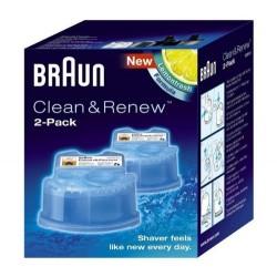 Liquido limpiador Braun CCR2, para afeitadoras CC