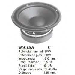 WOOFER REPRO 5 PULGADAS 60 W