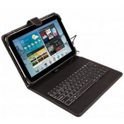 Funda Universal (9'' - 10.1'') + teclado con cable