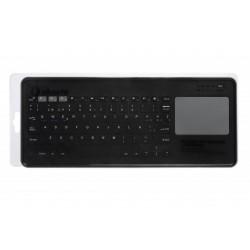 Teclado Wireless SilverHT Dark GreyTouchpad