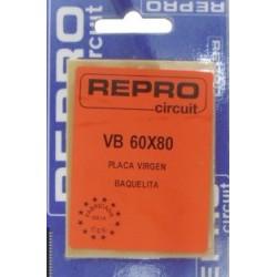 PLACA VIRGEN BAQUELITA 60X80