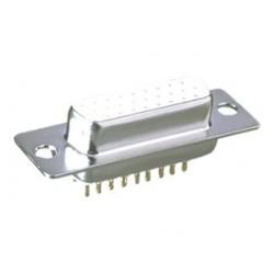 CONECTOR SUB D H 15P 3 HILERAS ·