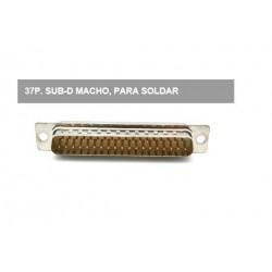 CONECTOR DP-37 MACHO