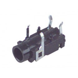 CONECTOR JACK HEMBRA 3,5MM STEREO