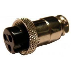 CONECTOR MICRO HEMBRA 3 P
