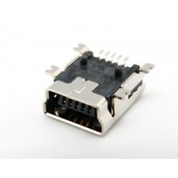 CONECTOR MINI USB *B* 5P. HEMBRA (SMD)