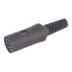 CONECTOR DIN 5 PINES HEMBRA