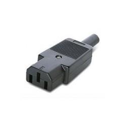 CONECTOR H AEREA 10A/250V C/RANURA