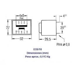 TRANSFORMADOR SABER ENCAPSULADO 12V 2.8VA