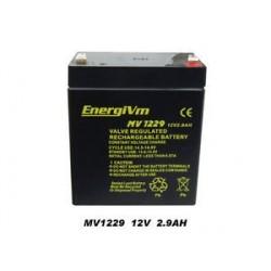 BATERIA 12V 2,9A ENERGIVM 79X56X100MM