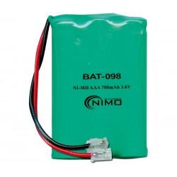 BATERIA 3,6V 320mAh BAT098 Teléfono inalámbrico