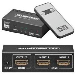 CAJA SPLITER HDMI 2 ENTRADAS 1 SALIDA