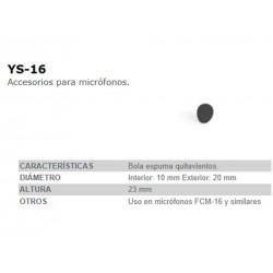 BOLA QUITAVIENTOS YS16 FONESTAR