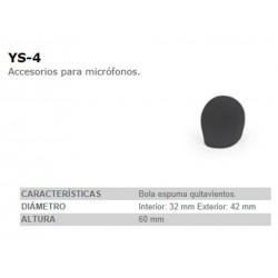 BOLA QUITAVIENTOS FONESTAR YS4