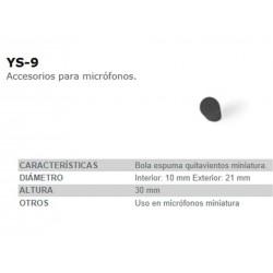 BOLA ESPUMA FONESTAR YS9