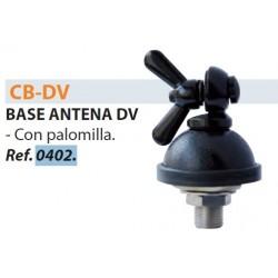 BASE MALETERO CON PALOMILLA BL.