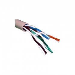 CABLE FTP CAT.5e RIGIDO LIBRE DE HALOGENOS LSZH