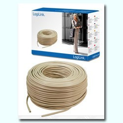 CABLE FTP CAT.5 RIGIDO APANTALLADO (en ROLLO 100M)