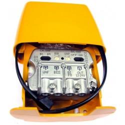 AMPLIF.MASTIL 12-24V UHF-BIII-FMmx