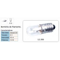 LAMPARA 6V 0,2A E-10