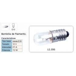 LAMPARA E10 12V 0,1A