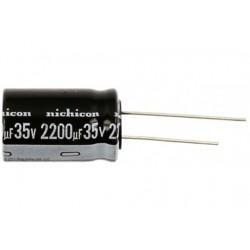 CONDENSADOR 2200/ 35 V. 105º ELECT.