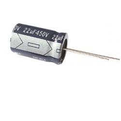 CONDENSADOR 22MF 450V 105º