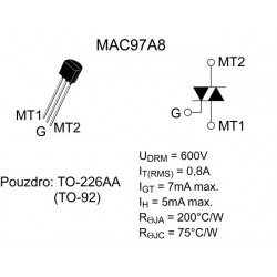TRIAC MAC-97 A8