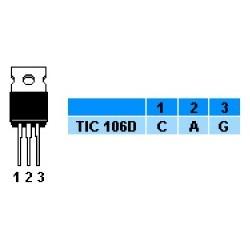 TIRISTOR TIC106 D