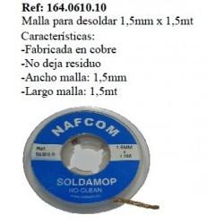 MALLA DESOLDAR 1,5MM X1,5M.