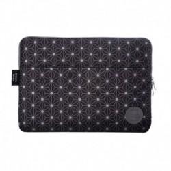 "Funda Portatil Sleeve Bag 13"" Black Geometric"