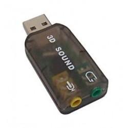 TARJETA DE SONIDO USB 2.0 VIRTUAL 5.1