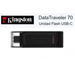 PENDRIVE USB TIPO C 128GB KINGSTON DT70