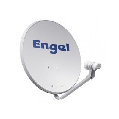 Kit Antena Parabólica 80 CM + Lnb Engel