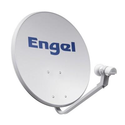 Kit Antena Parabólica 60 CM + Lnb Engel