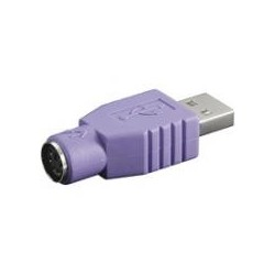 ADAPTADOR USB A MACHO - MINI DIN 6 HEMBRA