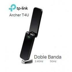ADAPTADOR WIFI USB DOBLE BANDA TPLINK ARCHER T4U