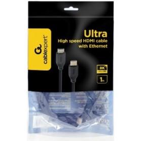 CABLE HDMI 2.1 8K 60HZ / 4K 120HZ 1M CABLEXPERT