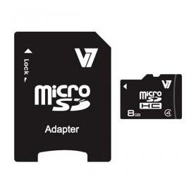 TARJETA MICRO SD HC UHS-I+ADAPTADOR 8GB V7 C.10