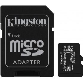 TARJETA MICRO SD 16 GB CLASE 10