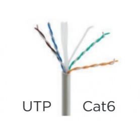 CABLE UTP CAT.6 RIGIDO (EN ROLLO 305M)