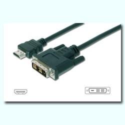 CABLE HDMI MACHO - DVI MACHO 5M