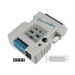 CONVERTIDOR RS232 A RS422/485 DB25H