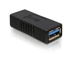 ADAPTADOR USB 3.0 TIPO A H-H DELOCK 65175