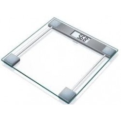 Bascula baño Cristal GS11 Beurer, 150kg/100g, digi