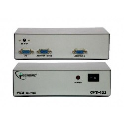 SPLITTER VGA 1 ENT.2 SAL. GEMBIRD GVS122
