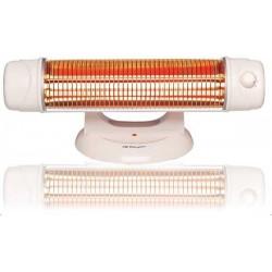 Radiador cuarzo Orbegozo BP5003, 1200w, 2 barras,