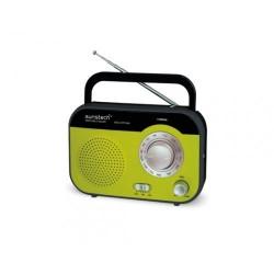 Radio de sobremesa Sunstech RPS560GR