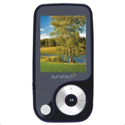 """1,8"""" Reproductor MP4 Sunstech THORN4GBBK, Negro"""